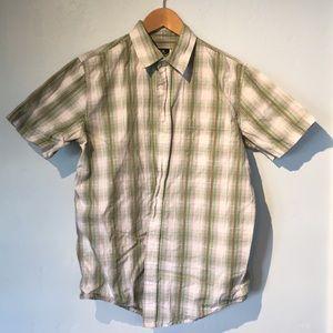 ❗️BUNDLE 2 FOR $10❗️ Short sleeve check shirt